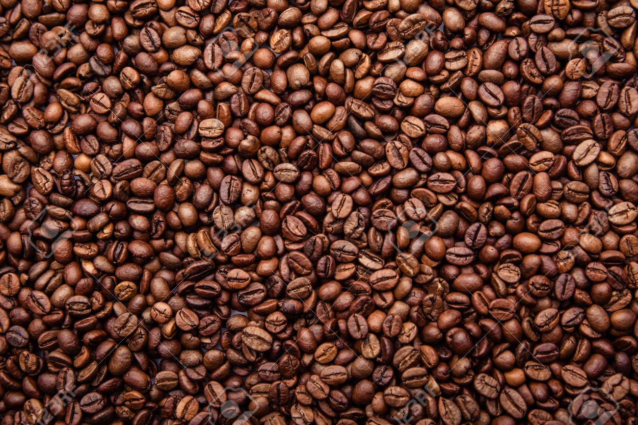 Brown coffee beans - 169820282