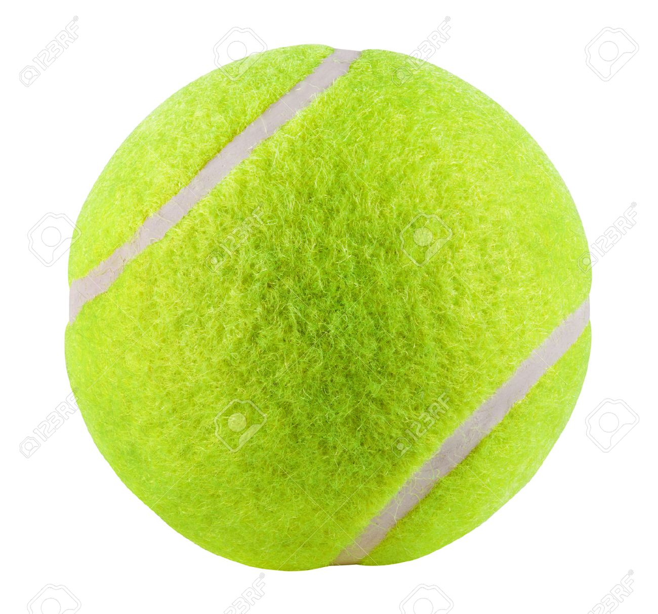 Tennis Ball Isolated On White Background Clipping Path Stock Photo Picture And Royalty Free Image Image 36287191