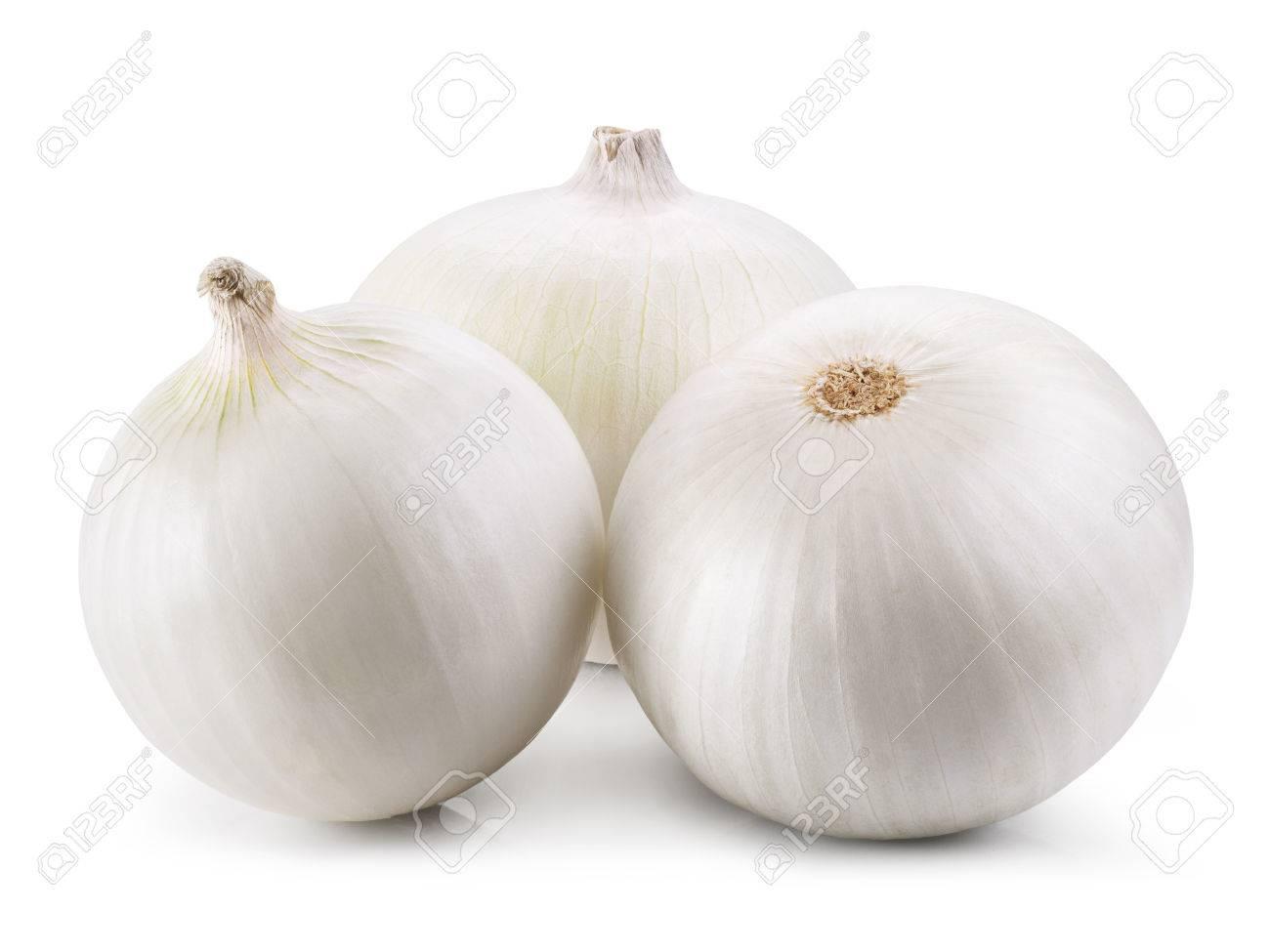 Onion isolated on white background - 44061251