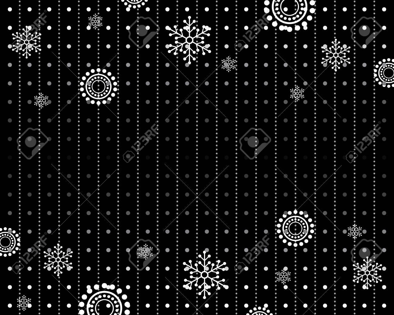 Winter pattern winter black and white background white snowflake winter pattern winter black and white background white snowflake 69465142 voltagebd Gallery