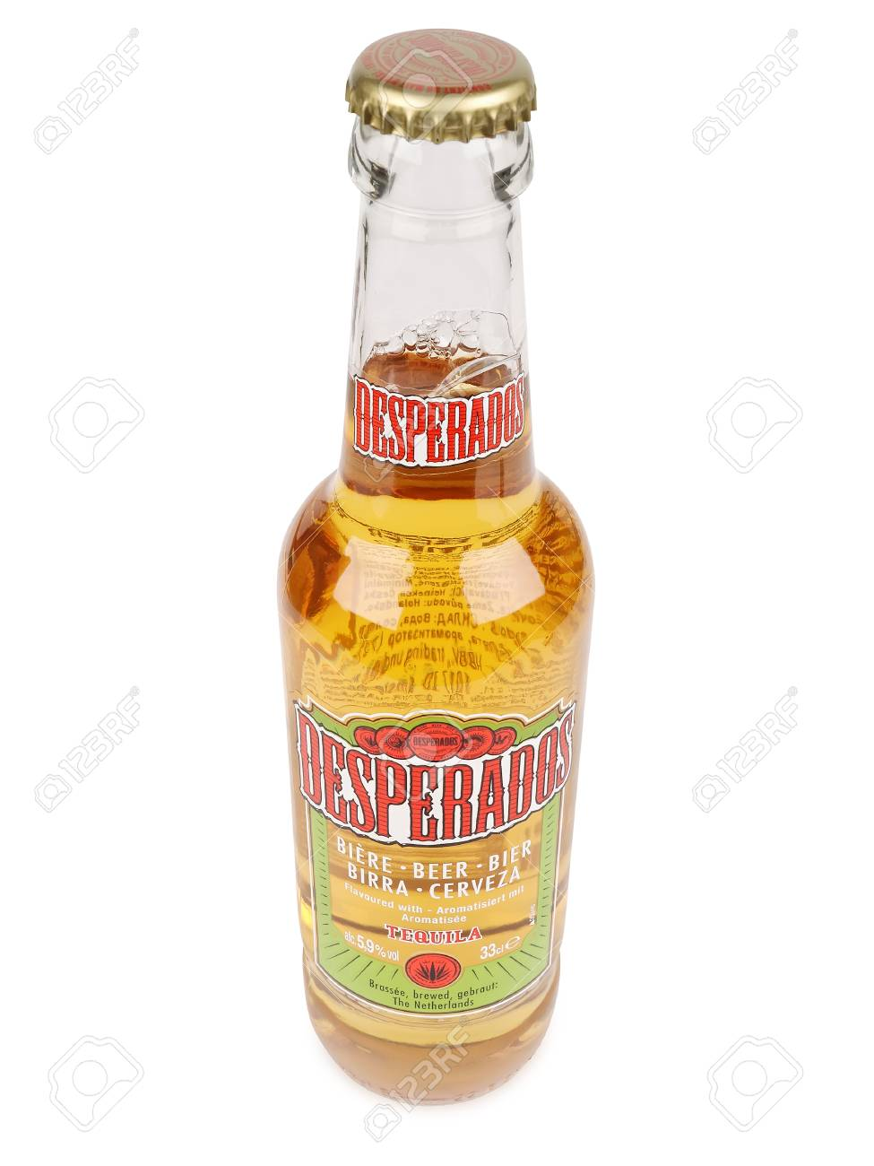 Pula Croatia February 27 2016 Desperados Lager Flavored Stock Photo Picture And Royalty Free Image Image 53943784