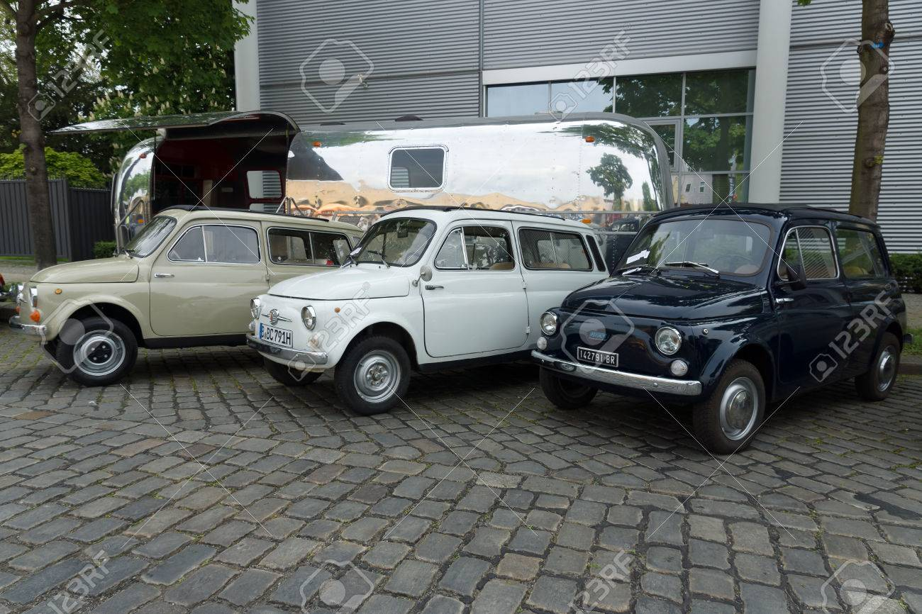 Berlin May 11 Compact Cars Fiat Fiat 500 R And 500 F Or Berlina
