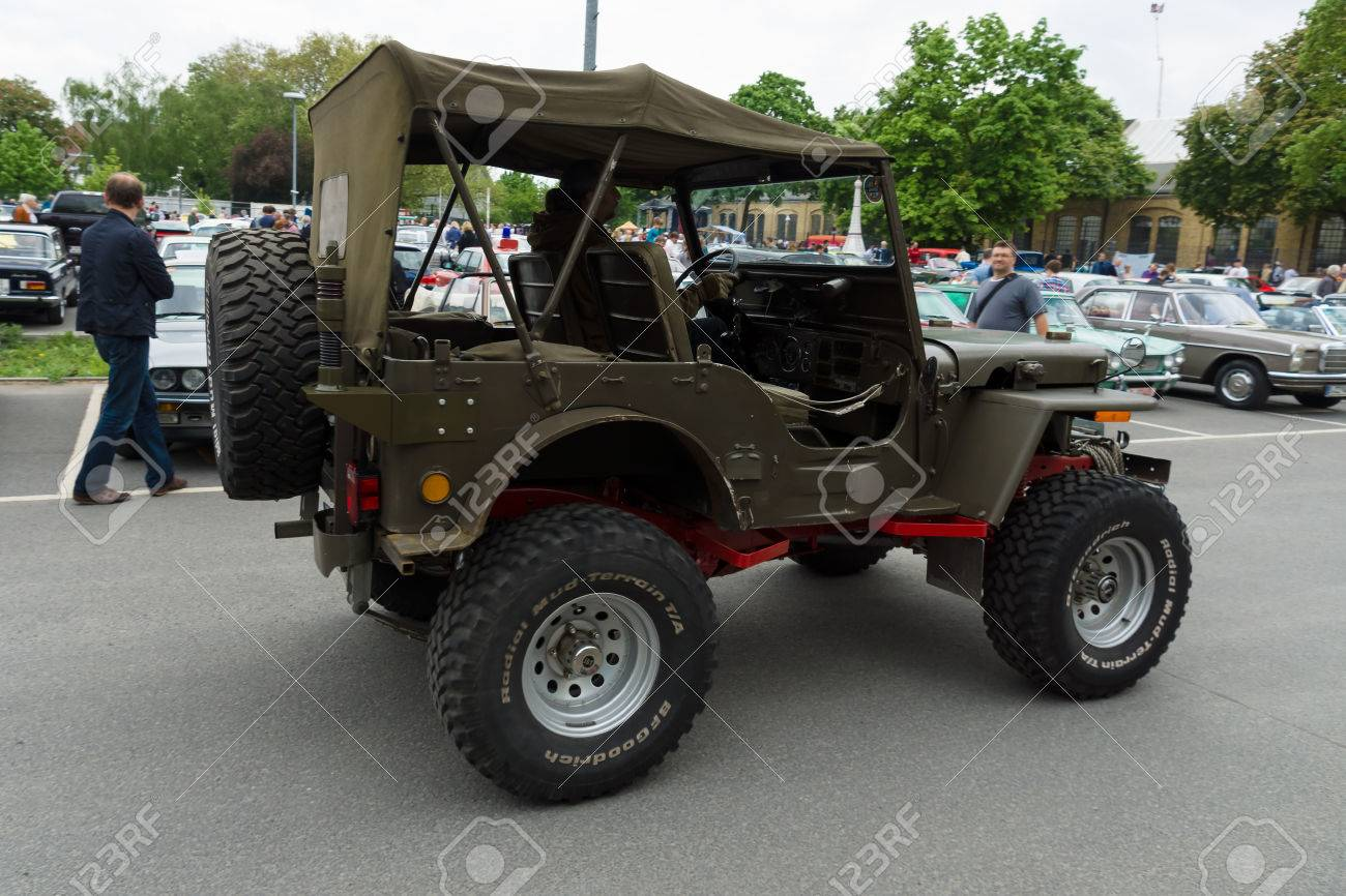 Jeep mb jeep : BERLIN - MAY 11: U.S. Army SUV Since World War II Jeep Willys ...