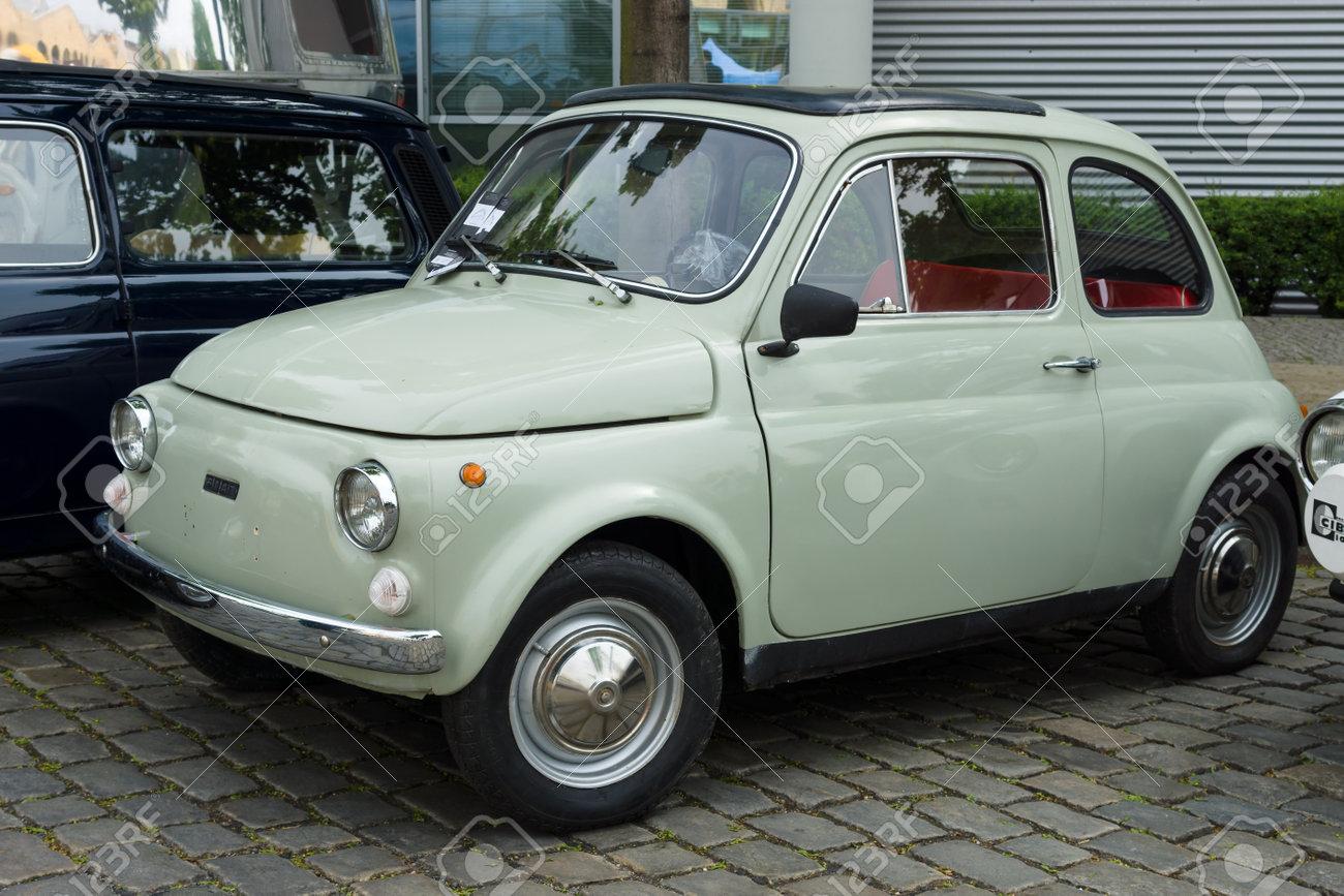 Berlin May 11 Small Car Fiat 500 R 26 Oldtimer Tage Berlin Brandenburg