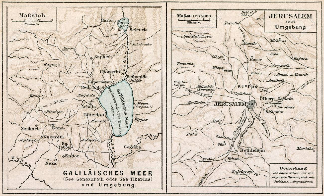 Map of Sea of Galilee and Jerusalem, with the surroundings The.. Und Map Jerusalem on gang map, fat map, central european time zone map, super map, de map, nd map, car map, old map, un map, mis map, spain and portugal map, n dakota state map, bogota on map, union map, uno map, unr map, red map, umd map, fun map, war map,