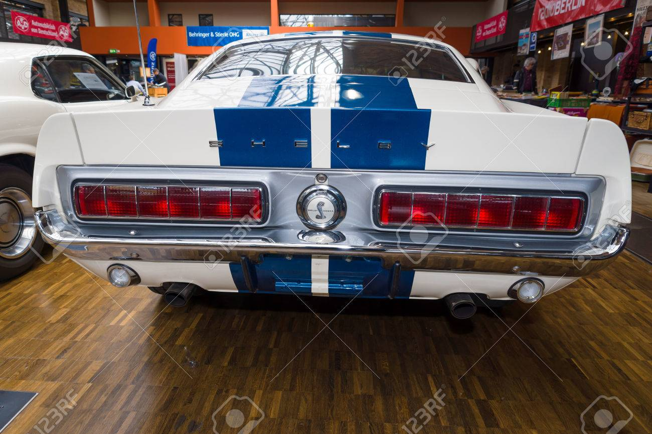 Berlin germany may 17 2014 shelby mustang gt350 fastback