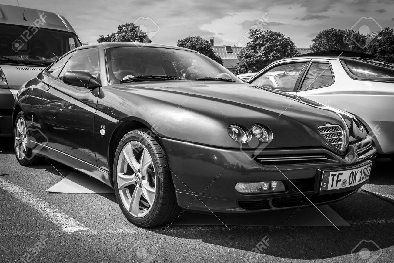 Berlin Germany May 17 2014 Sports Coupe Alfa Romeo Gtv V6 Stock Photo Picture And Royalty Free Image Image 30037076