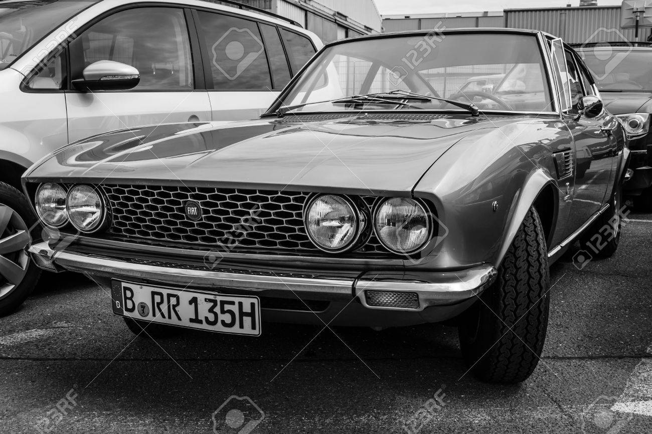 Berlin Germany May 17 2014 Sports Coupe Fiat Dino 2000 Type Stock Photo Picture And Royalty Free Image Image 30037077
