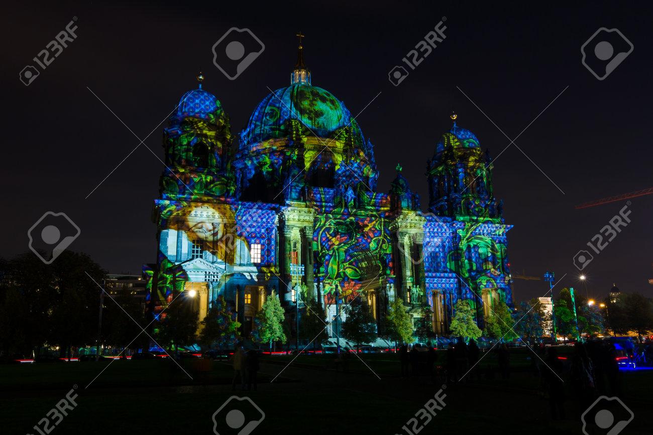 Berlino germania 17 ottobre 2014: cattedrale di berlino berliner
