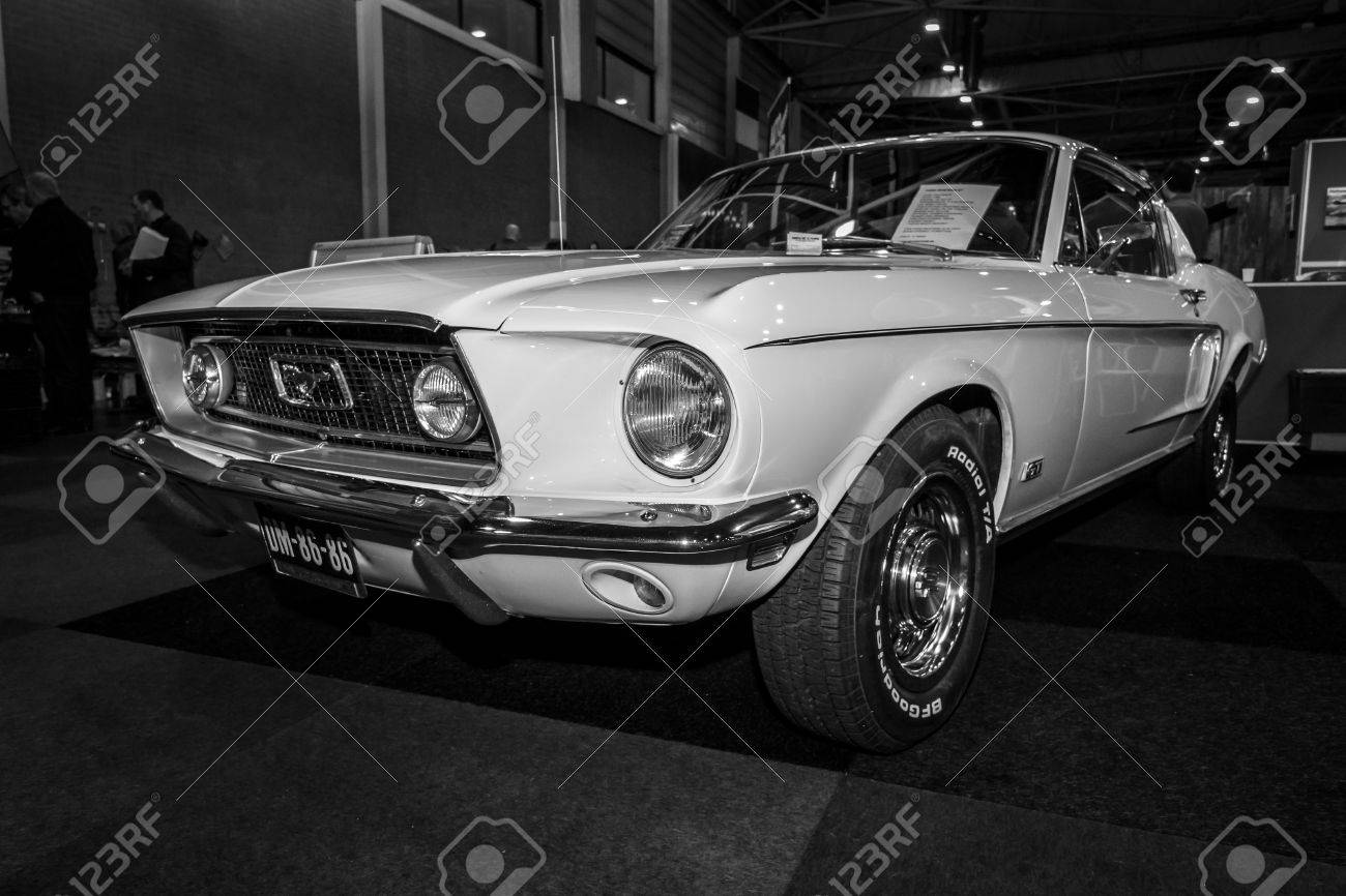 MAASTRICHT NETHERLANDS - JANUARY 09 2015 A pony car Ford Mustang GT Fastback & MAASTRICHT NETHERLANDS - JANUARY 09 2015: A Pony Car Ford ... markmcfarlin.com
