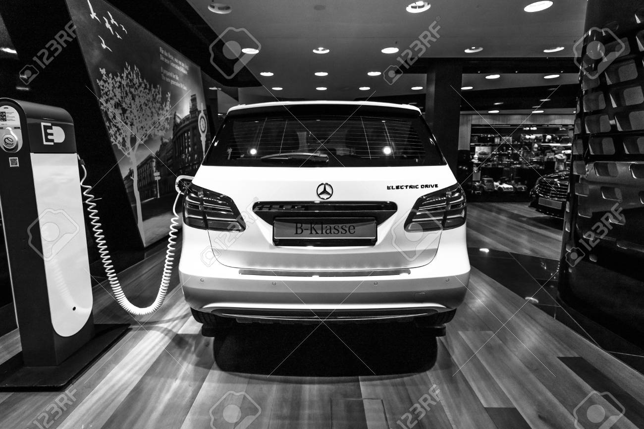 Berlin January 24 2015 A Compact Luxury Car Mercedes Benz