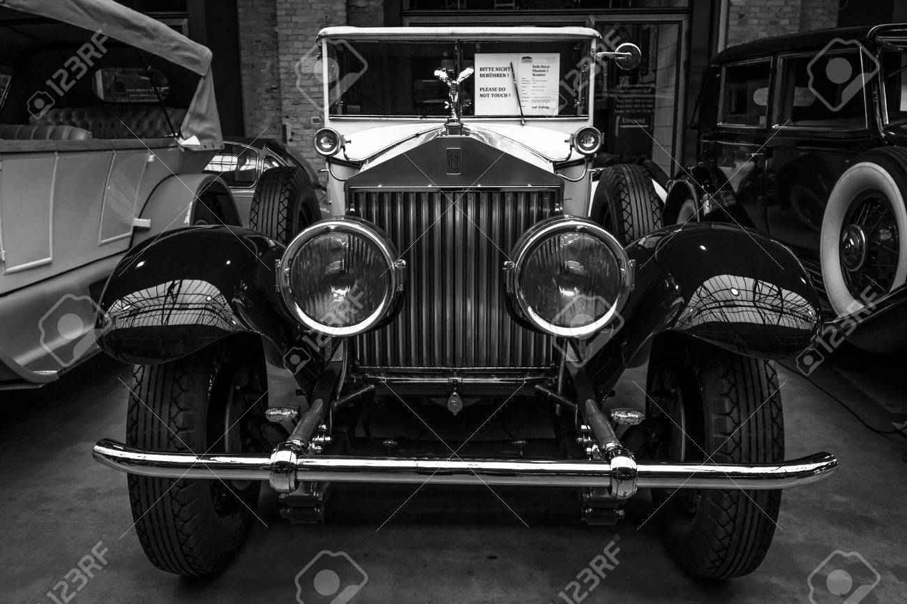 Berlin May 10 2015 Vintage Car Rolls Royce Phantom I 1927 Stock Photo Picture And Royalty Free Image Image 39912031