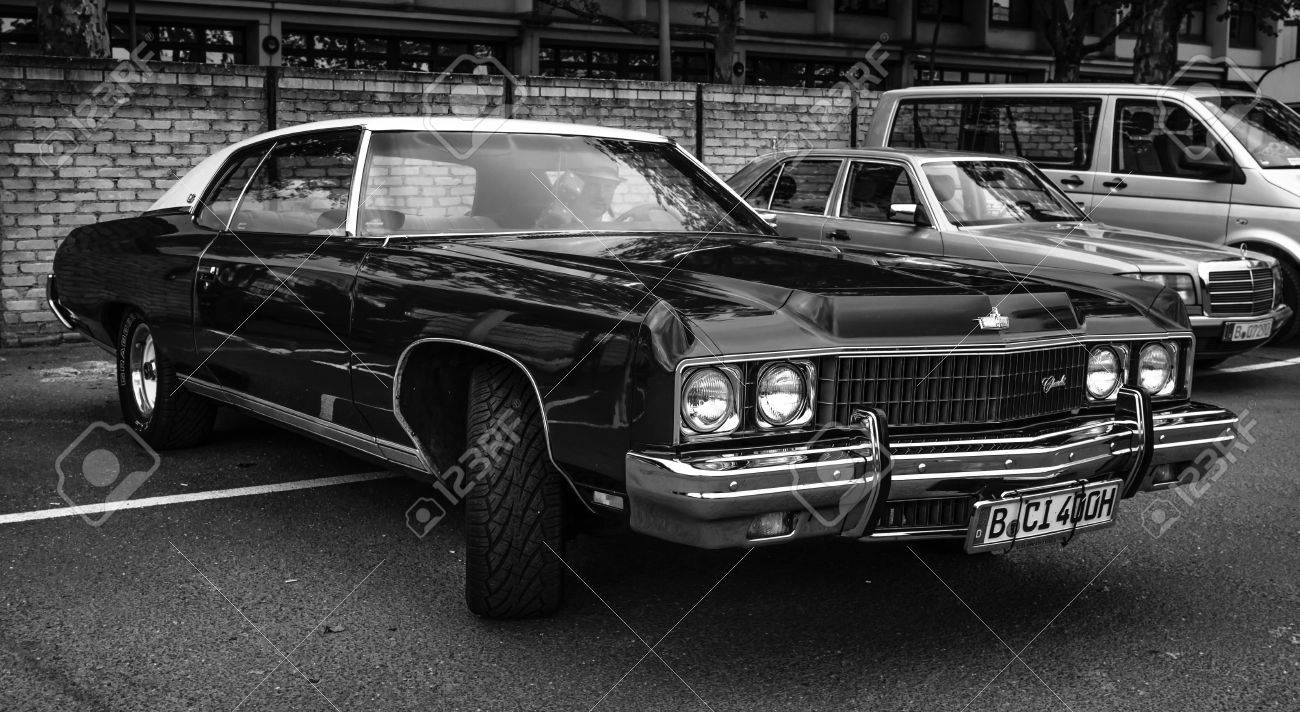 BERLIN - MAY 10, 2015: Full-size car Chevrolet Caprice, 1973