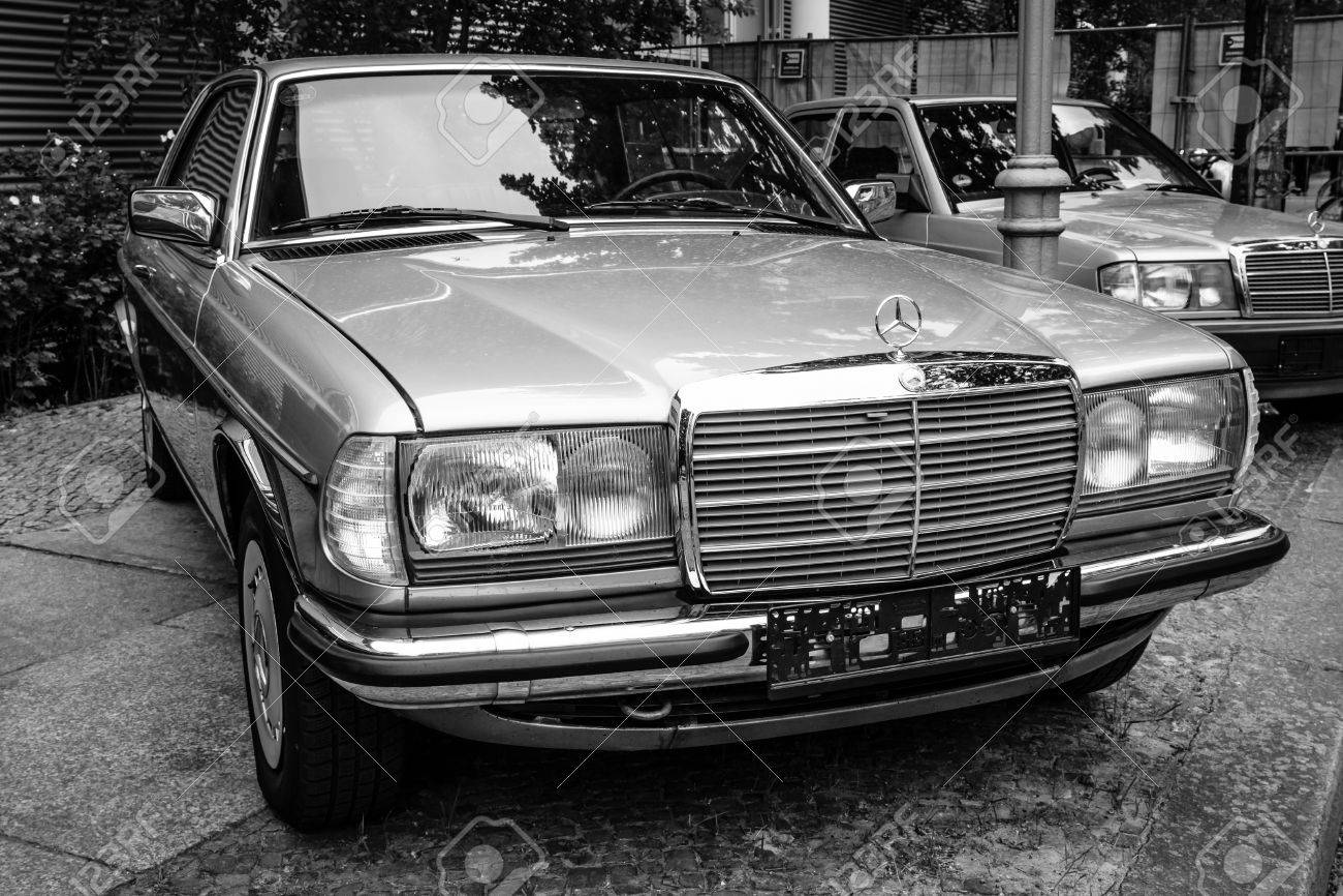 Berlin May 10 2015 Full Size Luxury Car Mercedes Benz 230c