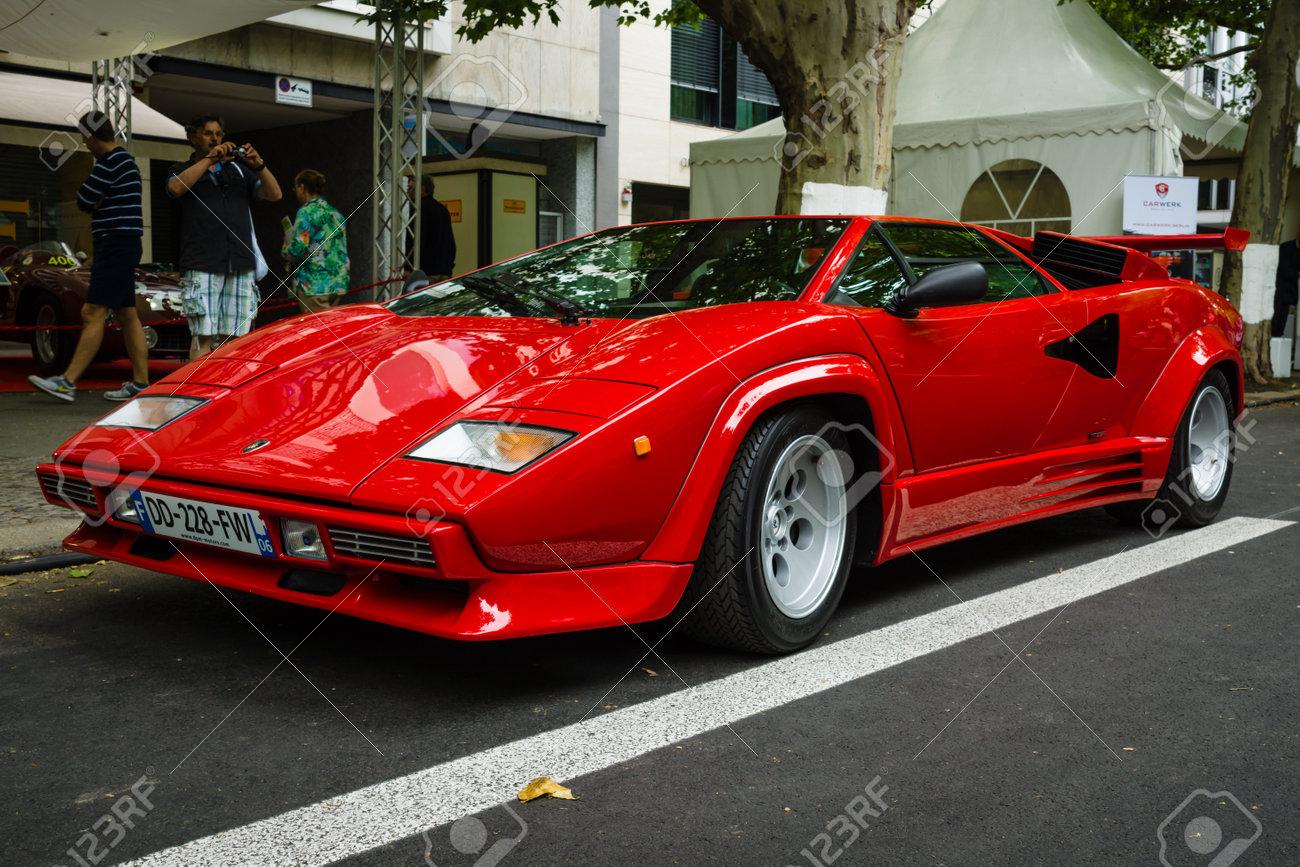 Berlin June 14 2015 Luxury Sports Car Lamborghini Countach