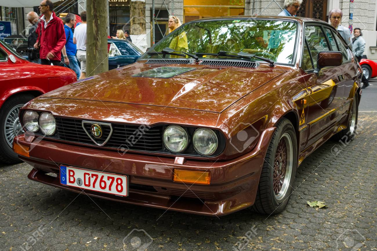 Berlin June 14 2015 Sports Car Alfa Romeo Gtv6 The Classic