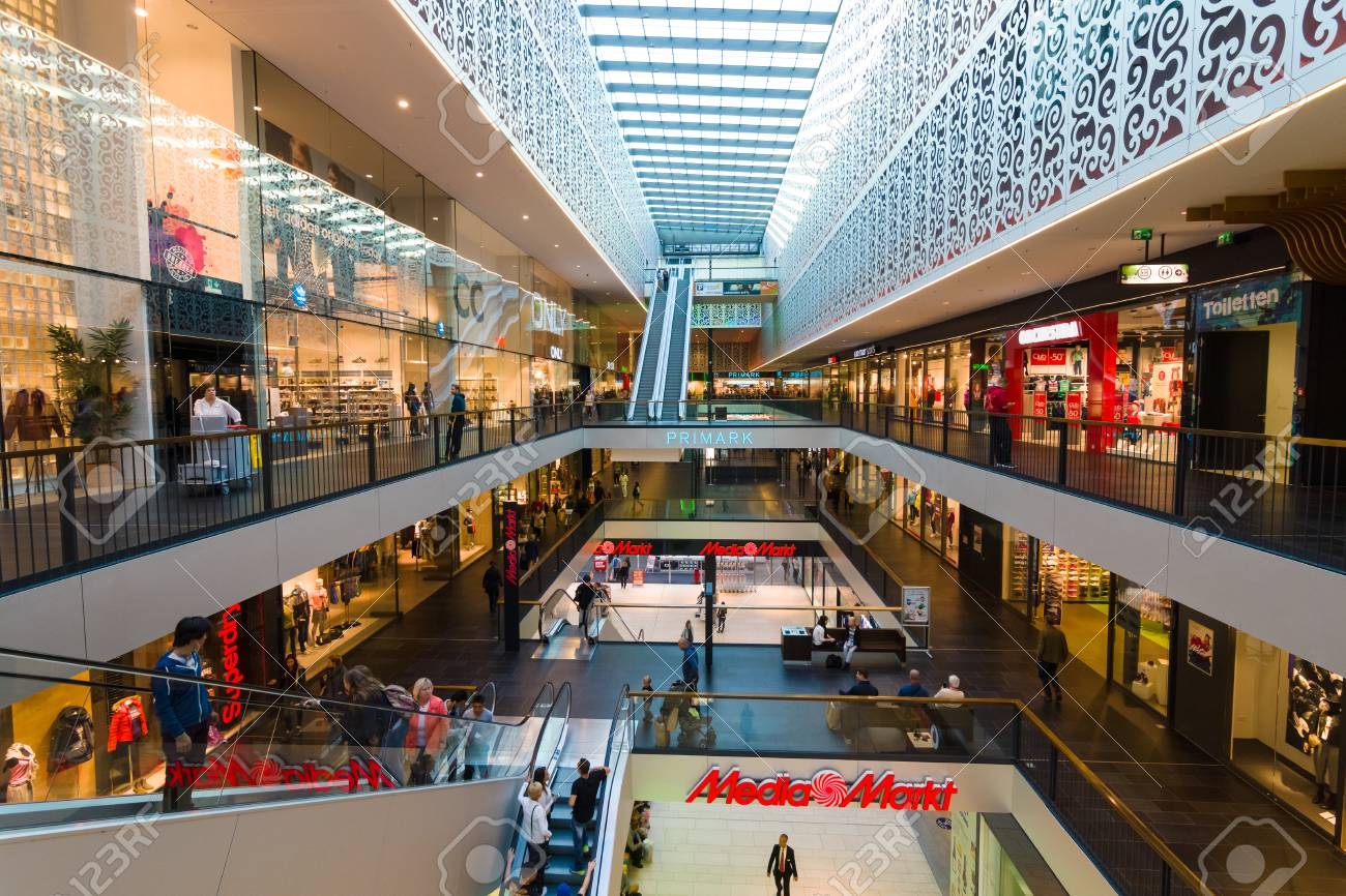 Dresden Germany September 09 2015 Shopping Center Centrum