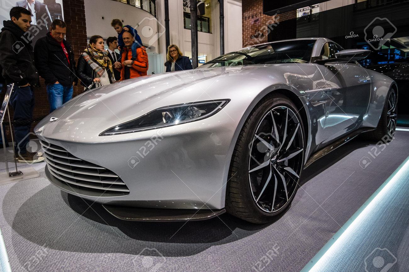 Berlin October 26 2015 Grand Tourer Aston Martin Db10 The