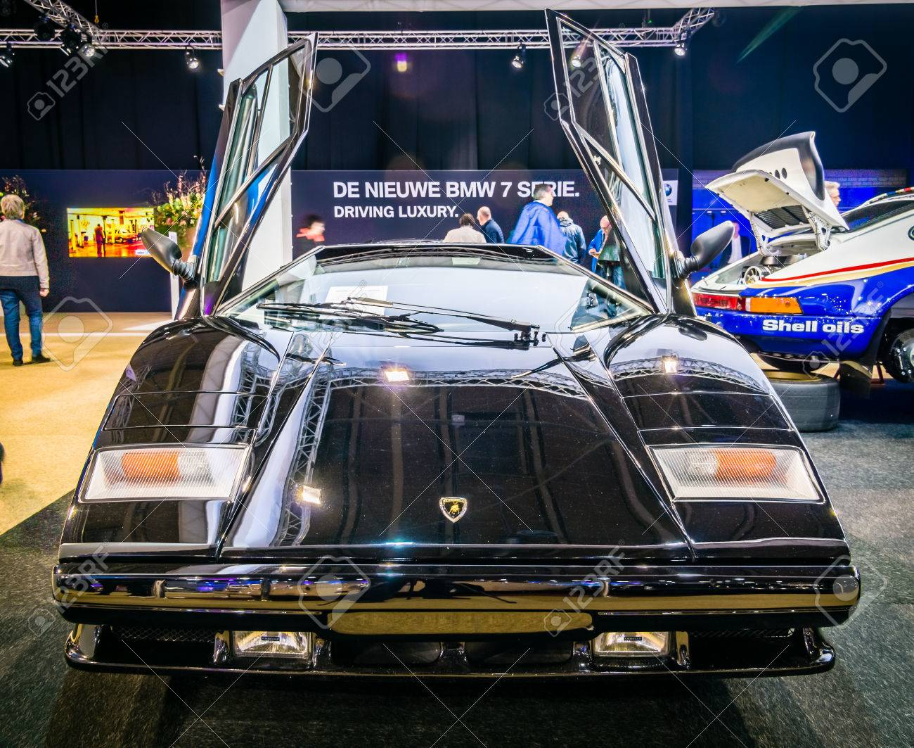 Maastricht Netherlands January 14 2016 Sports Car Lamborghini