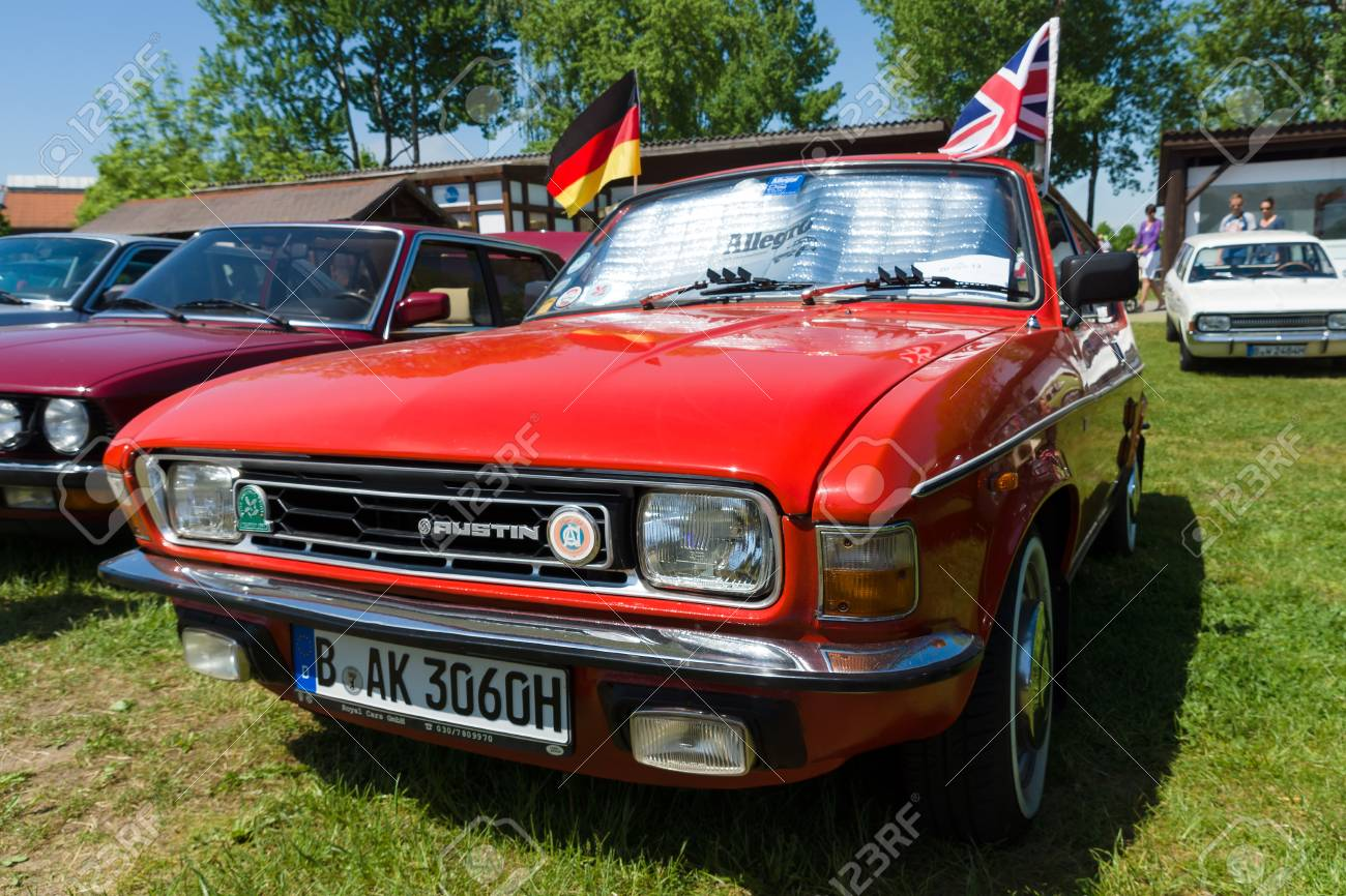 Paaren Im Glien Germany May  The Austin Allegro Is A Small Family