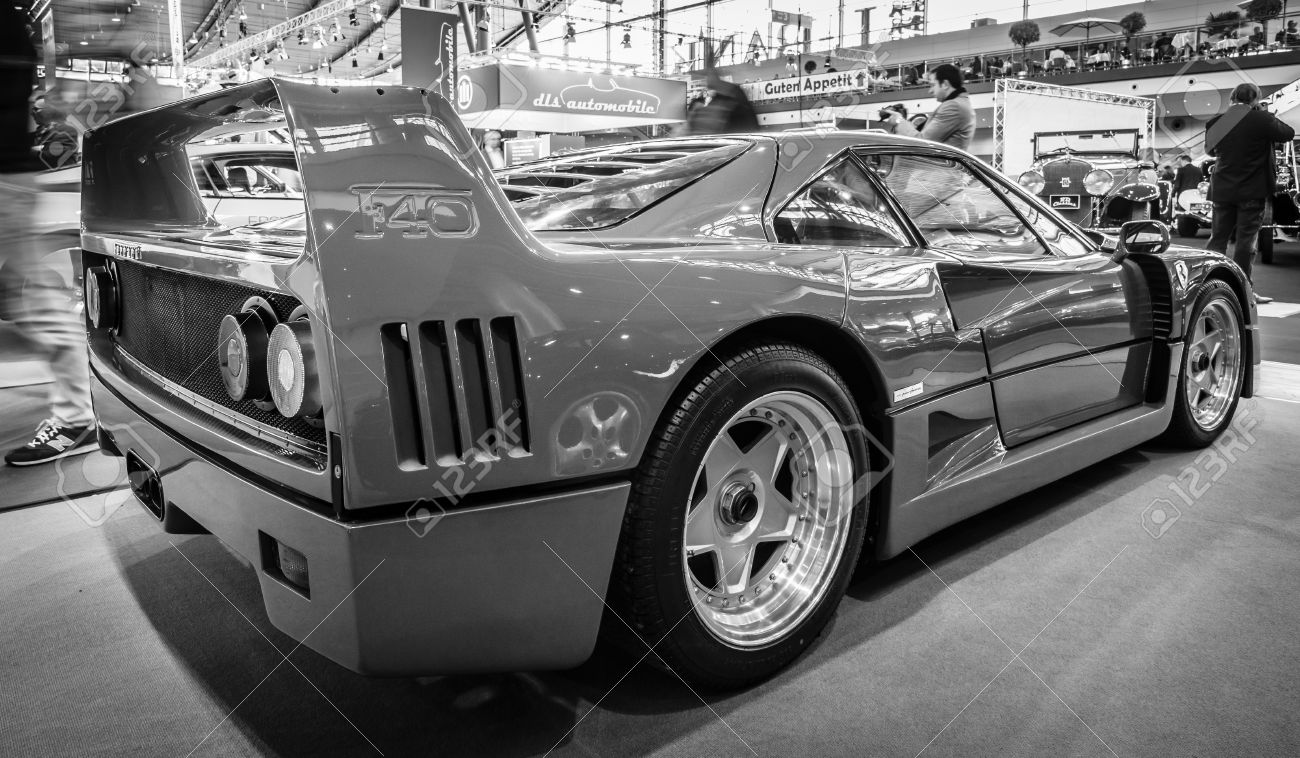Stuttgart Germany March 17 2016 Sports Car Ferrari F40 Stock Photo Picture And Royalty Free Image Image 55626221