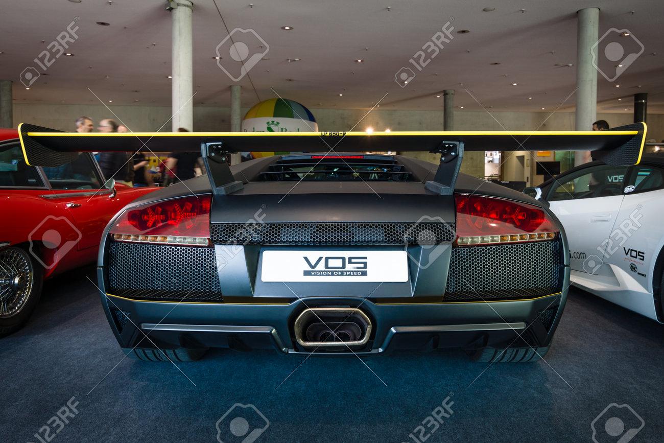 Stuttgart Germany March 17 2016 Sports Car Lamborghini