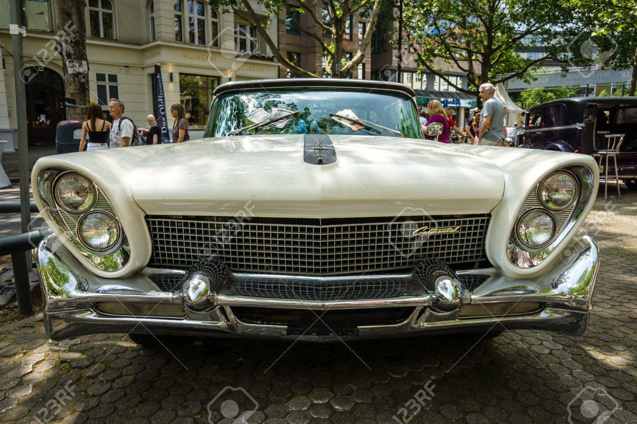 Berlin June 05 2016 Full Size Luxury Car Lincoln Continental