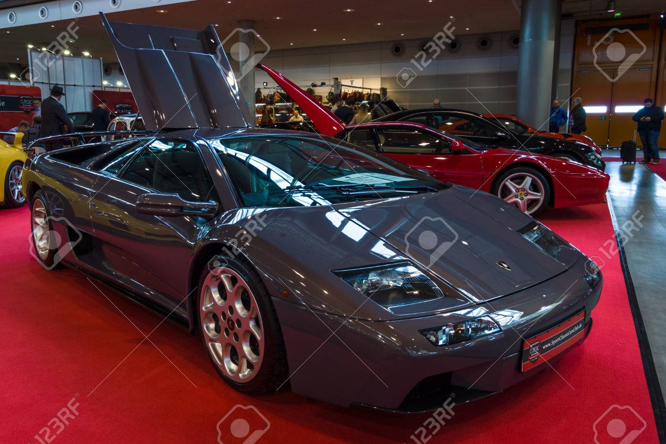 Stuttgart Germany March 02 2017 Sports Car Lamborghini Diablo