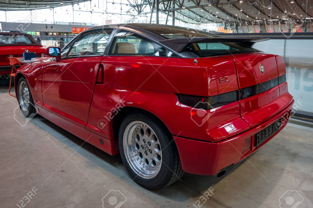 Alfa Romeo Zagato >> Stuttgart Germany March 02 2017 Sports Car Alfa Romeo Sz