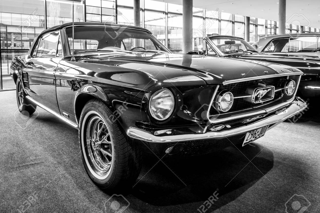 stuttgart, germany - march 03, 2017: pony car ford mustang