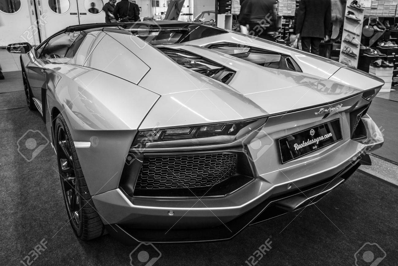 Stuttgart Germany March 03 2017 Sports Car Lamborghini