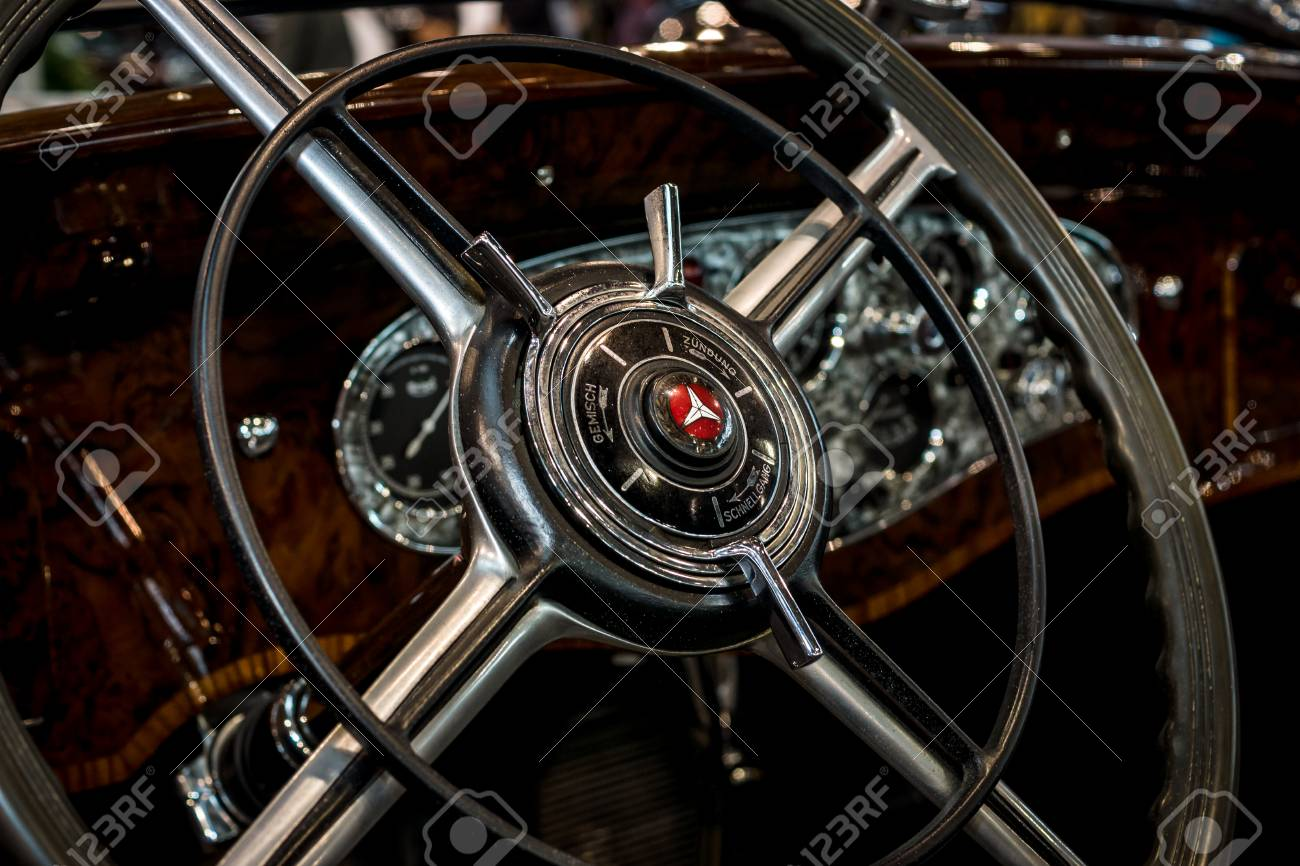 78728689 Stuttgart Germany March 04 2017 Interior Of The Mercedes Benz 770k W150 1931 Europe S Greatest Class