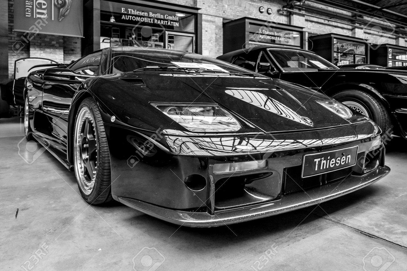 Berlin May 13 2017 Sports Car Lamborghini Diablo Gt 2001