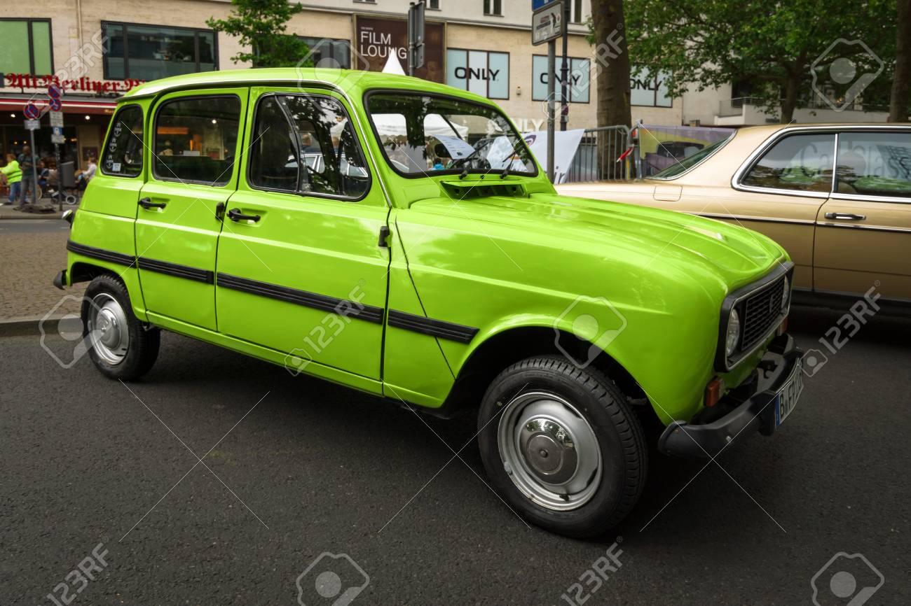 BERLIN - JUNE 17, 2017: Economy Car Renault R4 Safari, 1971... Stock ...