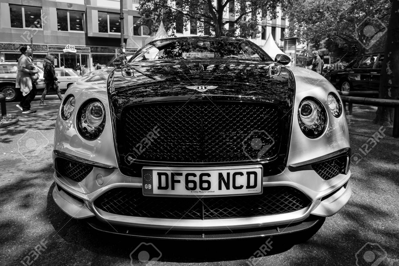 Berlin June 17 2017 Personal Luxury Car Bentley Continental Stock Photo Picture And Royalty Free Image Image 81680194