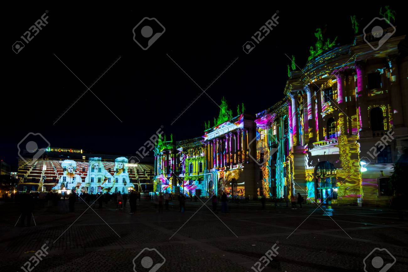 Berlino 8 ottobre 2017: la costruzione della facoltà di legge di