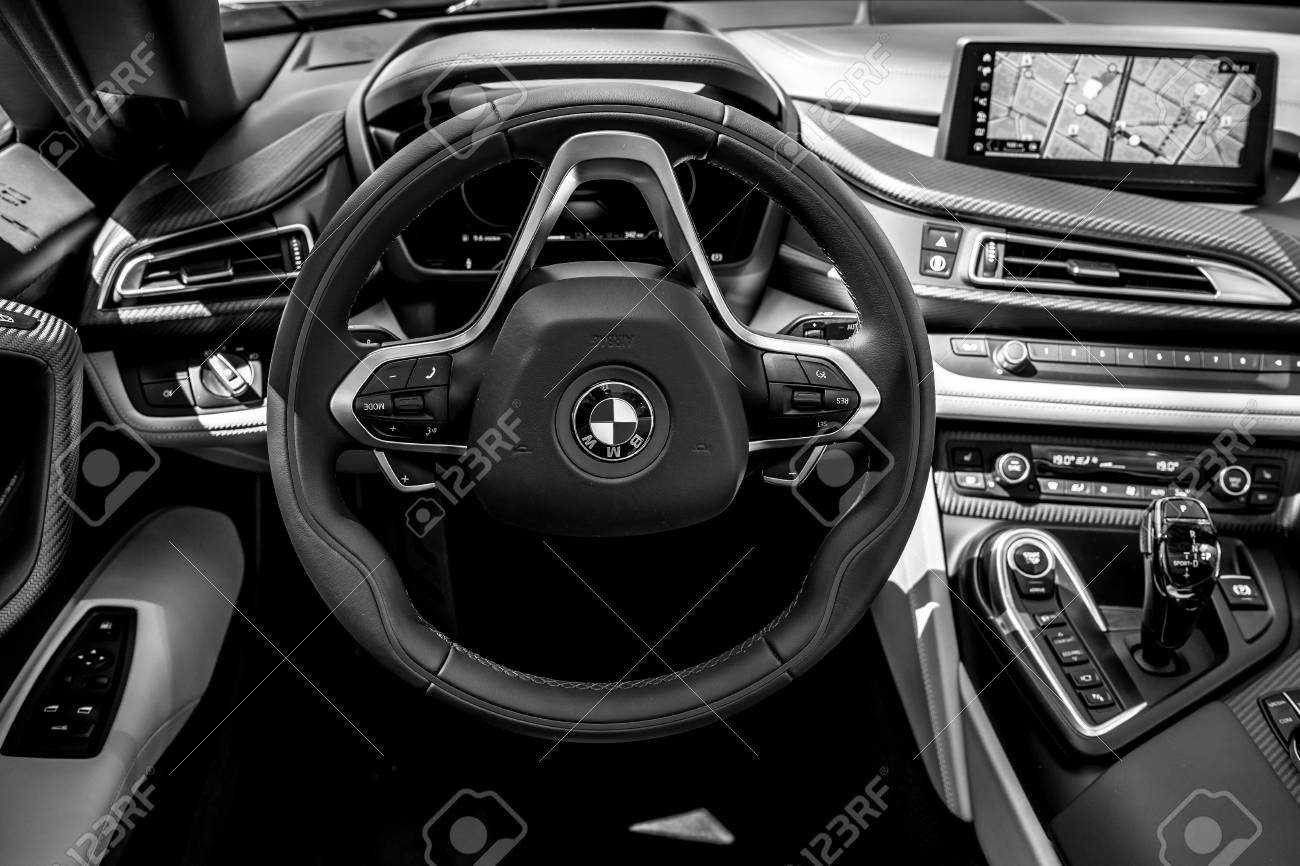 Berlin June 09 2018 Showroom Interior Of A Plug In Hybrid Stock Photo Picture And Royalty Free Image Image 110049069