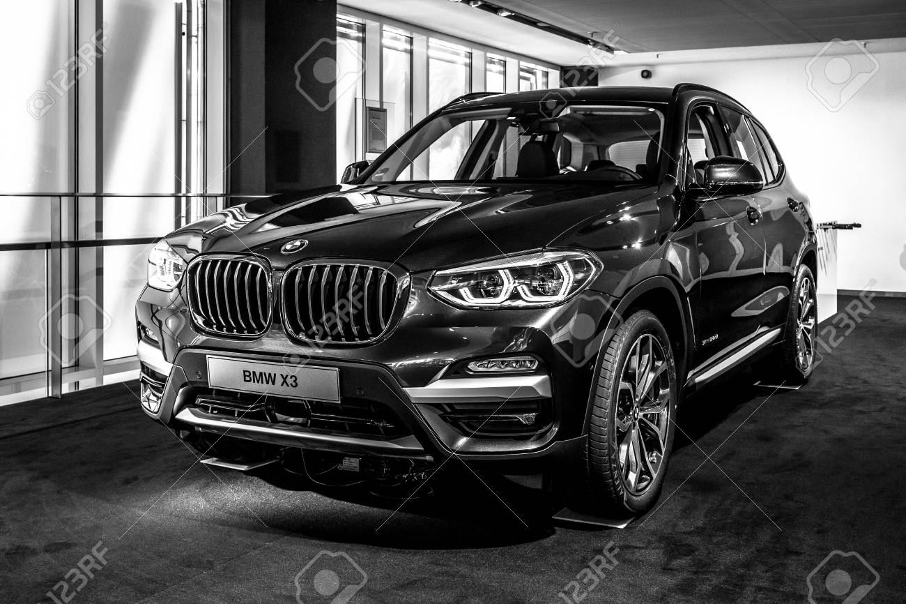 Berlin June 09 2018 Showroom Compact Luxury Crossover Suv Stock Photo Picture And Royalty Free Image Image 110049130
