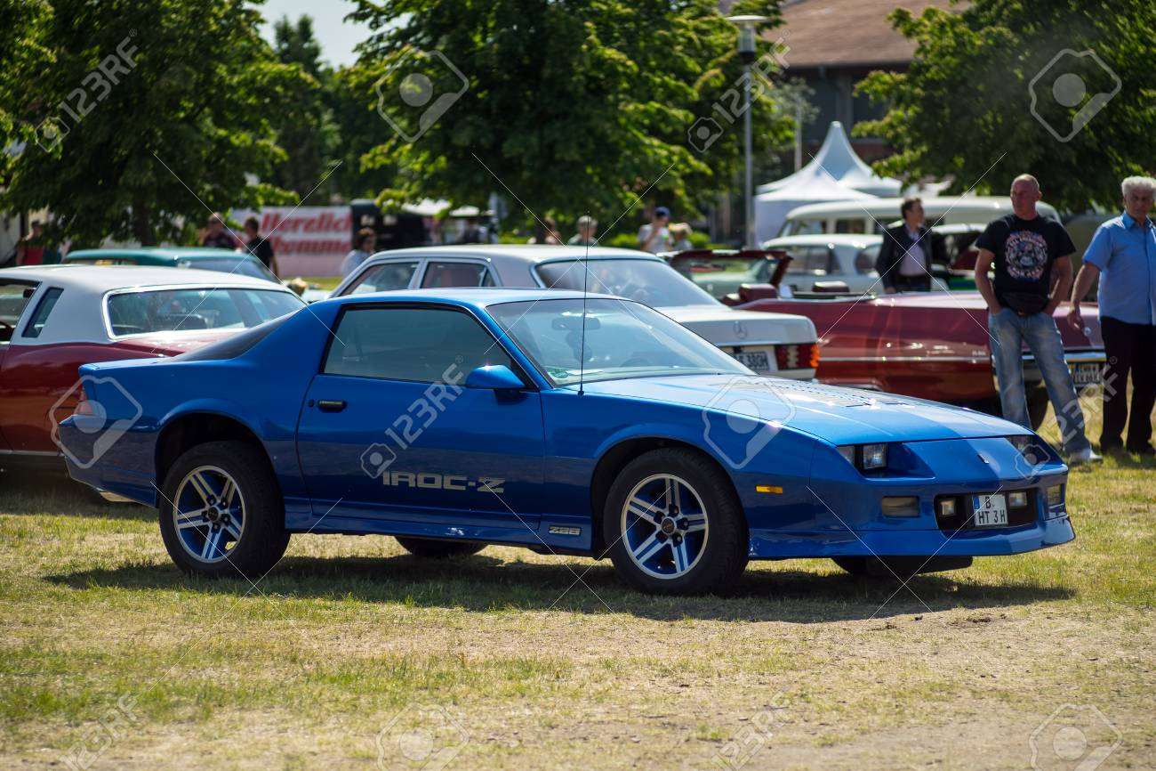 Camaro Iroc Z28 >> Paaren Im Glien Germany May 19 2018 Muscle Car Chevrolet