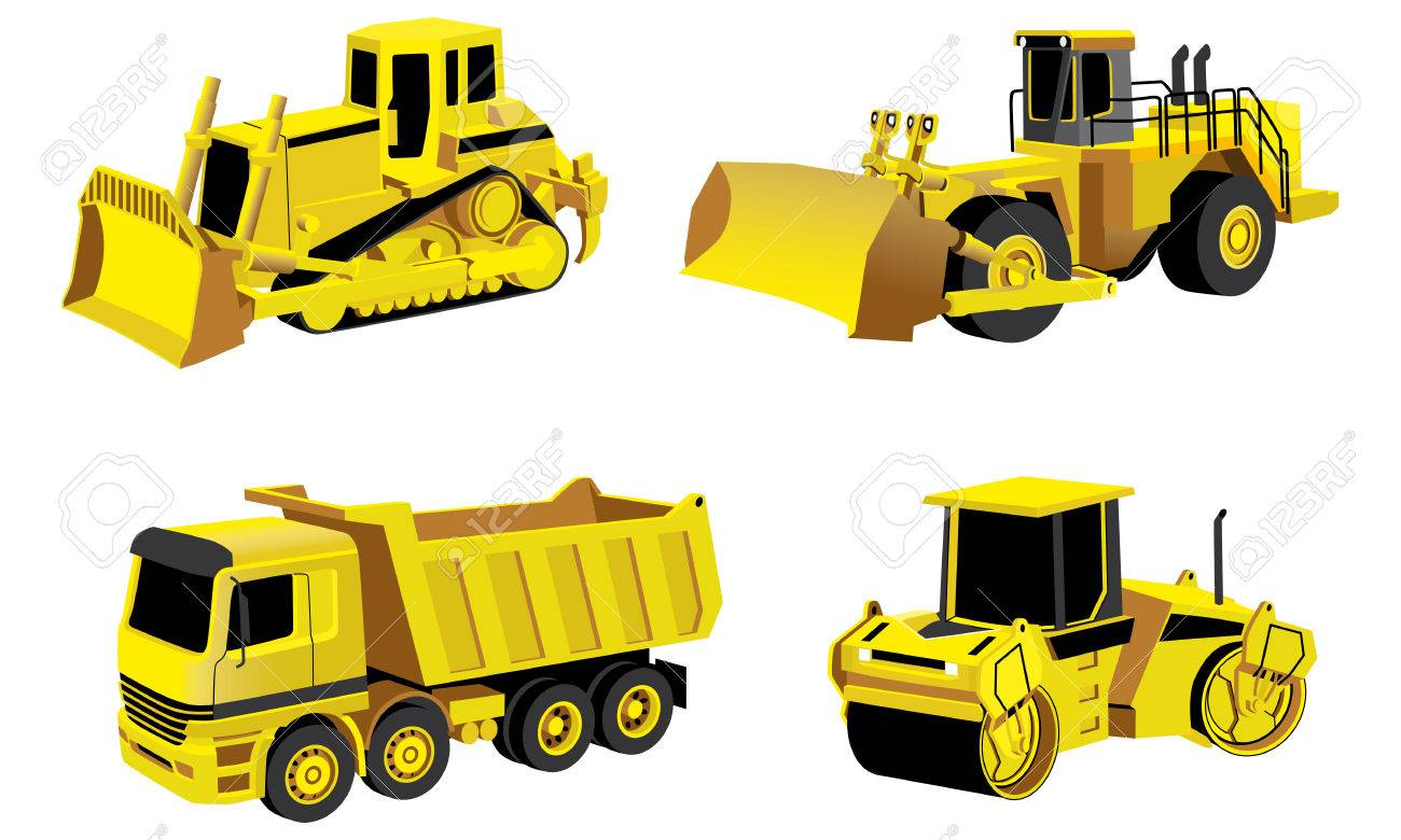 Vectorial set of engineering icon. No blends. Stock Vector - 6972916