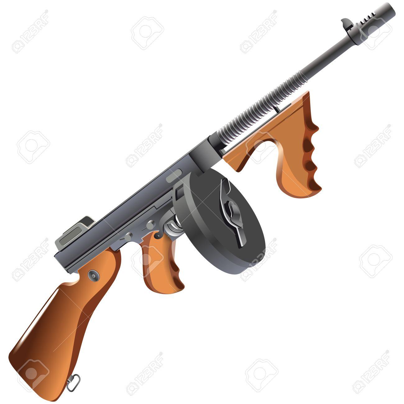 Mafia Weapons Gun Weapon of Mafia