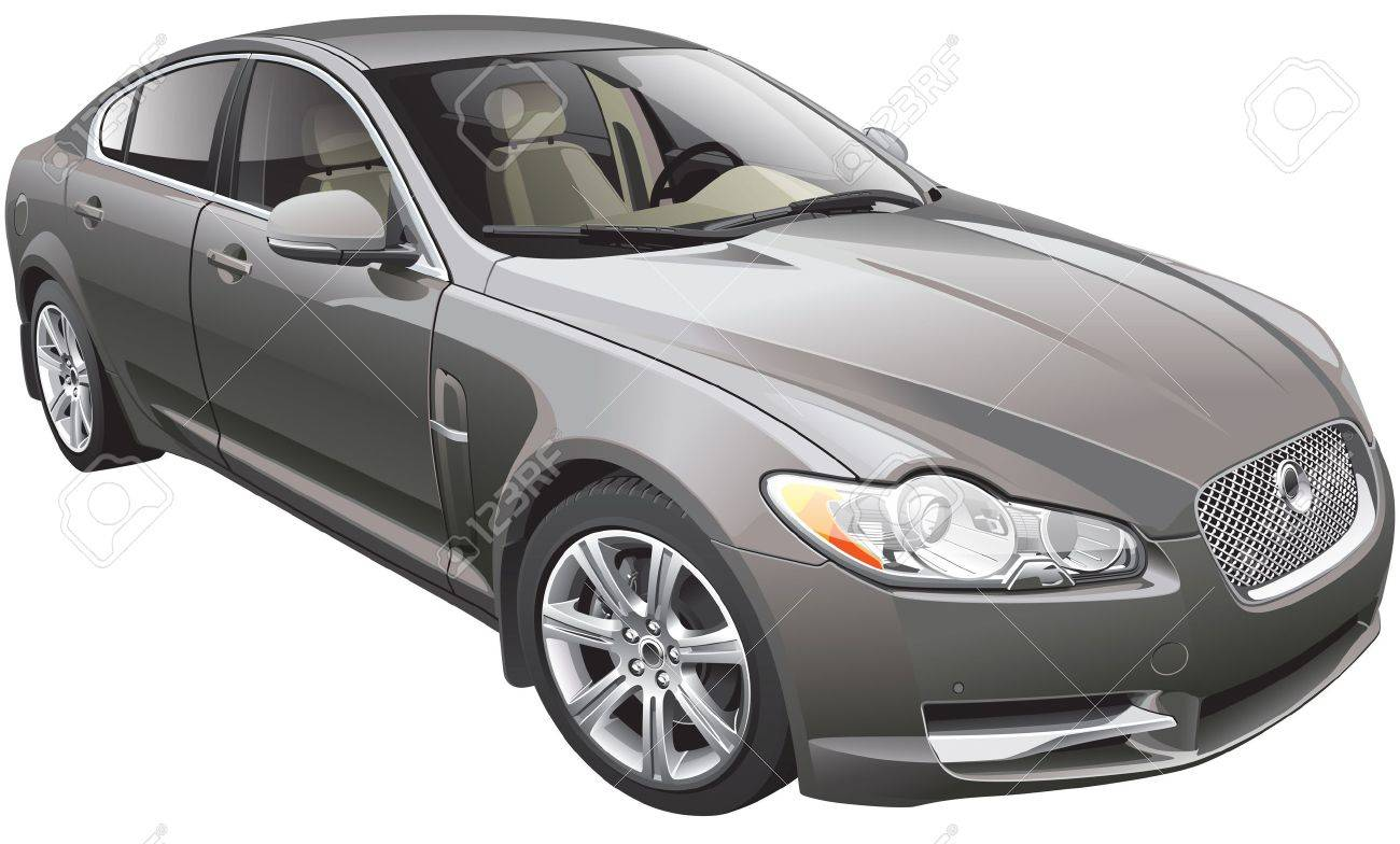 detail image of british fancy car stock vector 17313865