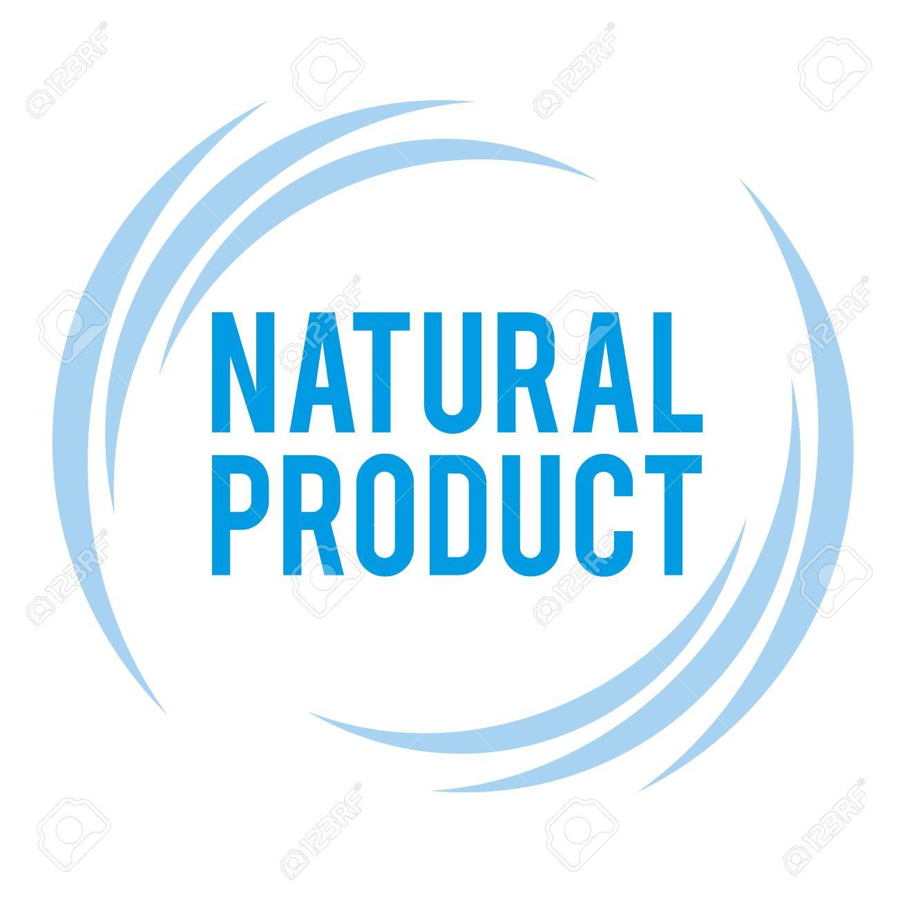 mark of the natural product Stock Vector - 18562032