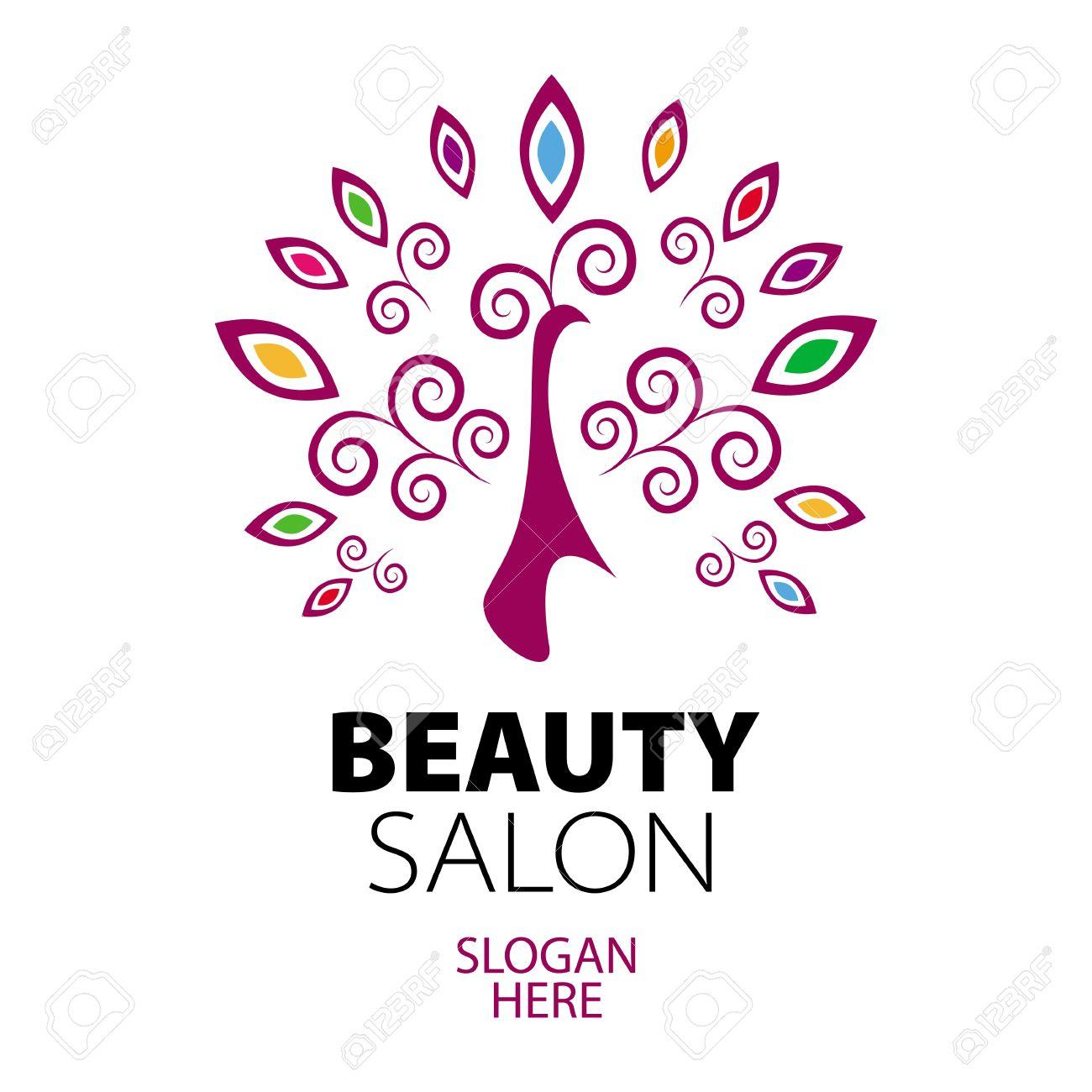 peacock logo for beauty salon Stock Vector - 20237220