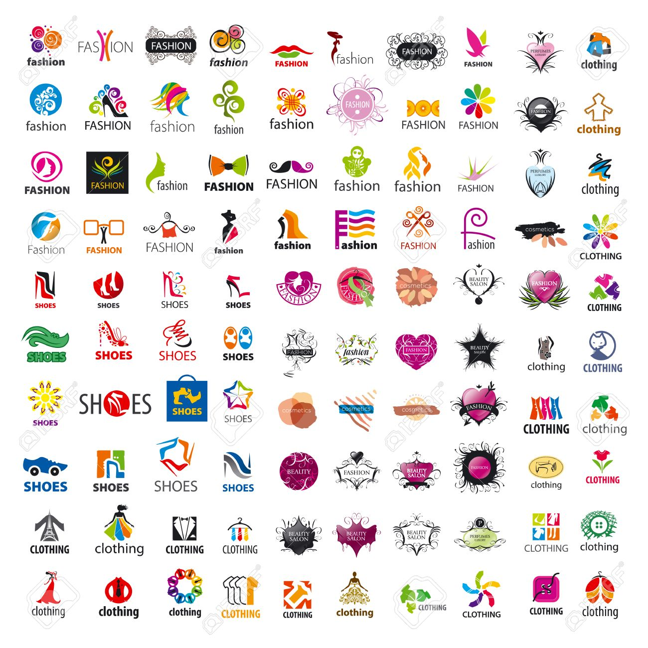 92747b9a6 biggest collection of vector logo design and fashion clothes Stock Vector -  39633637