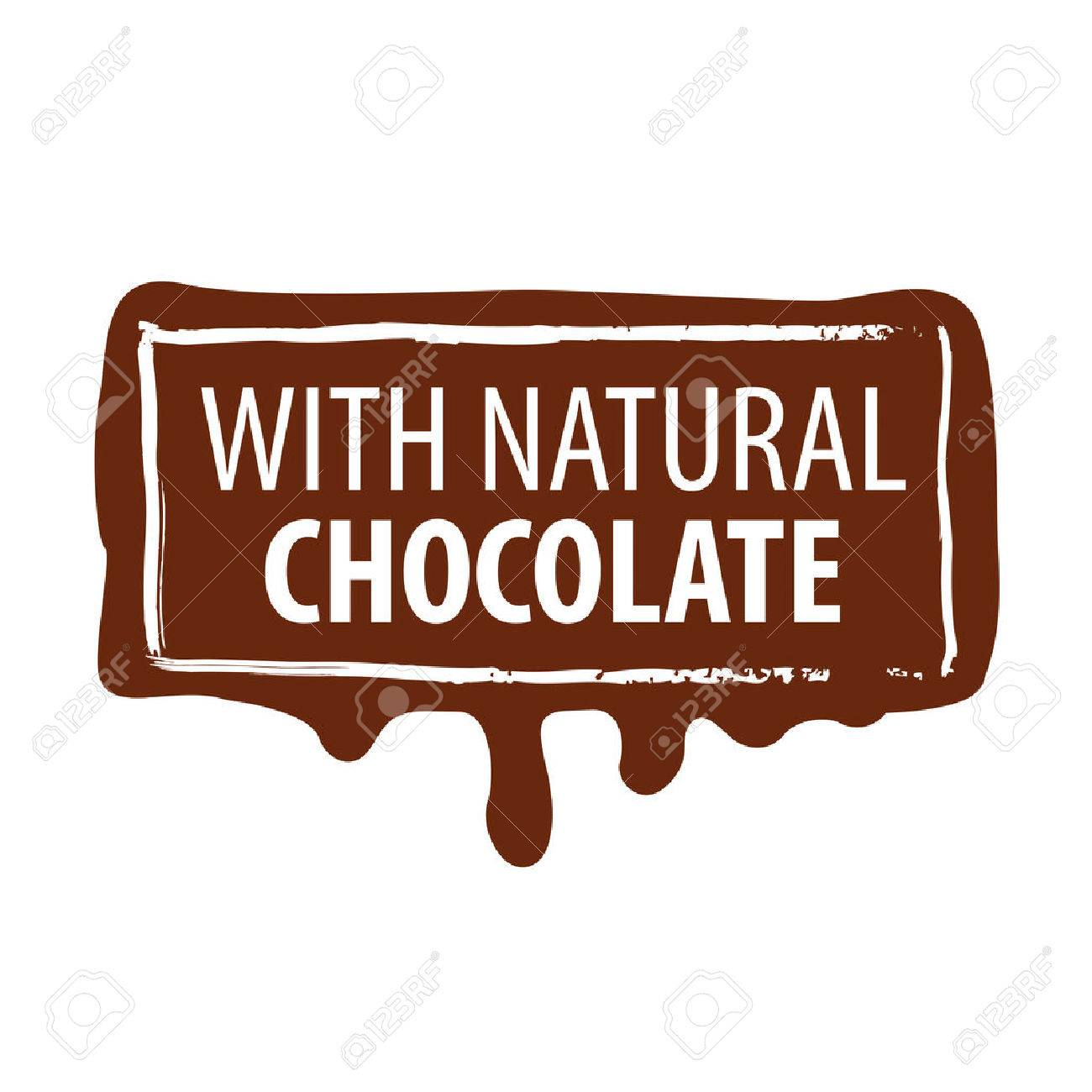Vector logo printing for natural chocolate royalty free cliparts vector logo printing for natural chocolate stock vector 41764697 sciox Choice Image