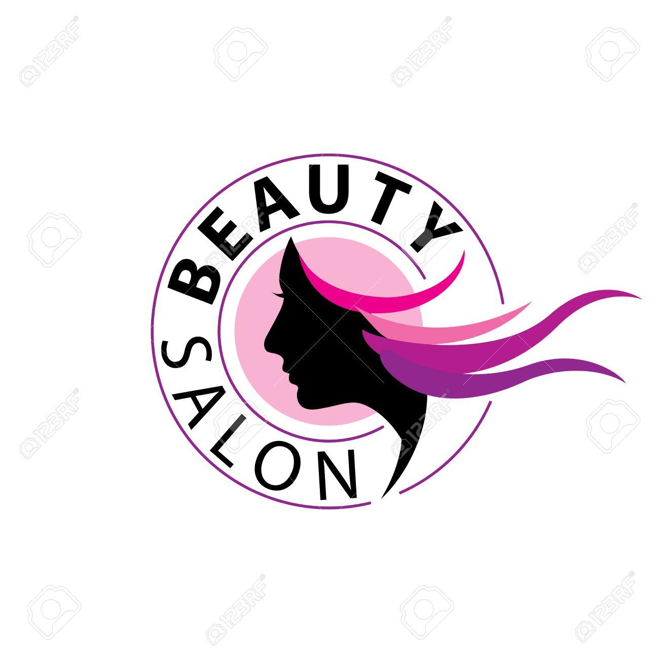 beauty female face logo design cosmetic salon logo design creative rh 123rf com beauty salon logo design free beauty salon logo vector free download
