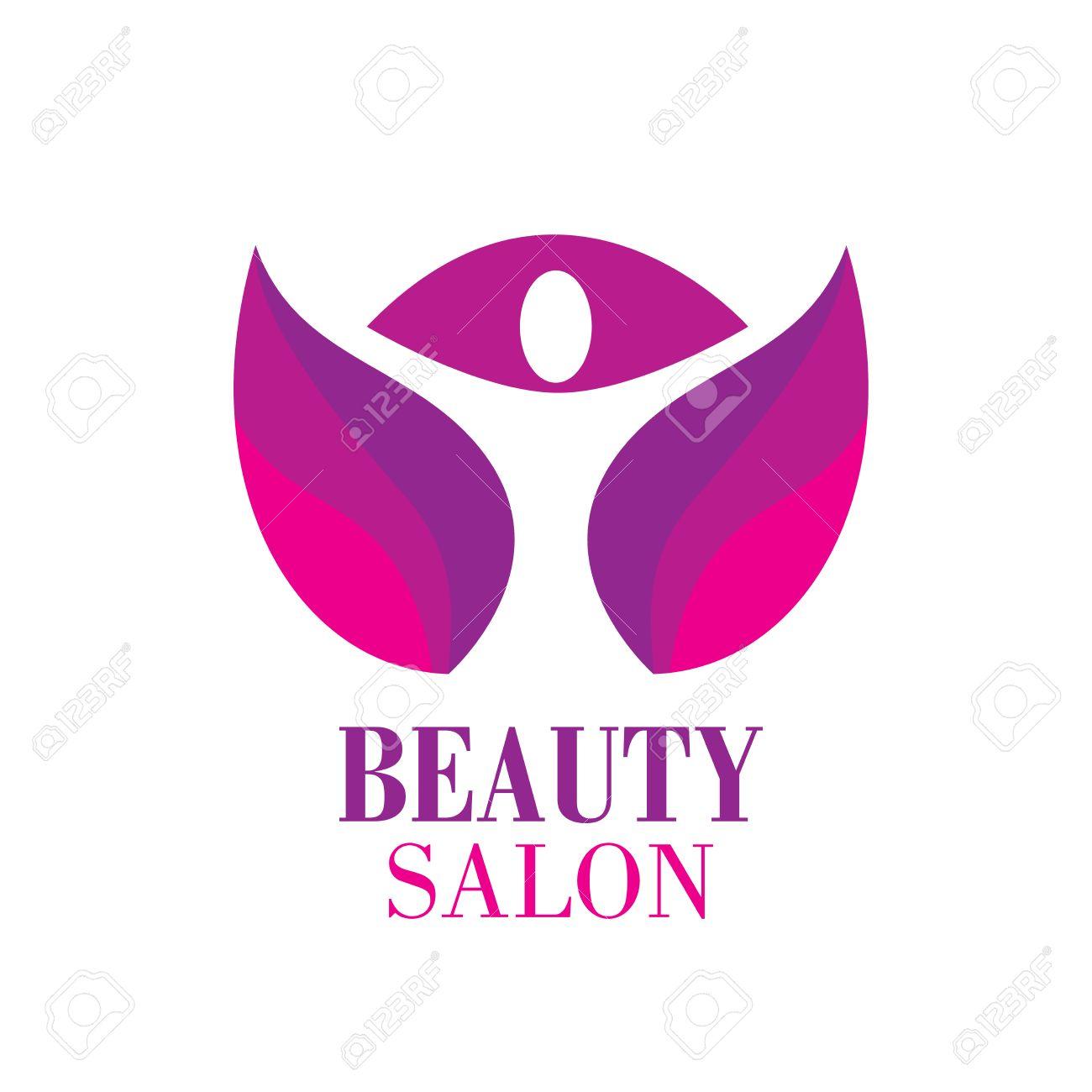 beauty female face logo design cosmetic salon logo design creative