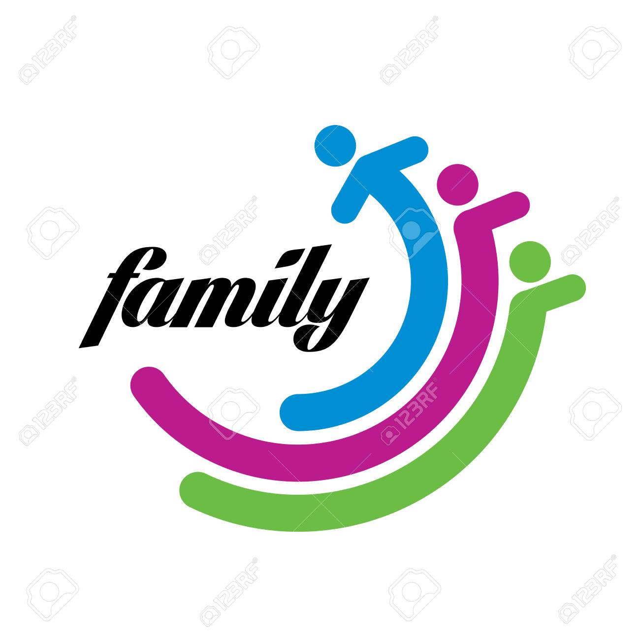 17 045 family logo stock vector illustration and royalty free family rh 123rf com free vector illustrations software free vector illustrations software