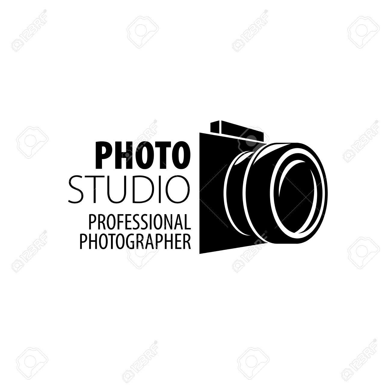 Vector Logo Vorlage Für Einen Fotografen Oder Studio Lizenzfrei